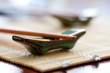 Chopsticks close-up