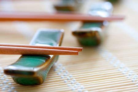 Chopsticks Close-up Stock Photo