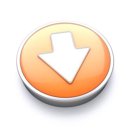 glow stick: Downloading icon  Stock Photo