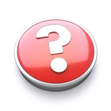 costumer: Help or question icon  Stock Photo