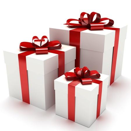 Gift boxes Stock Photo - 10750136