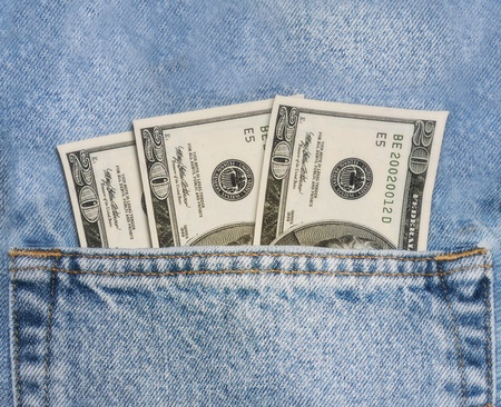 Money in your pocket Stock Photo - 11641404