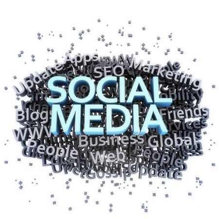 Social media concept Stock Photo - 11641400