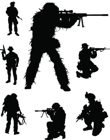 operations: �lite militaire Illustration
