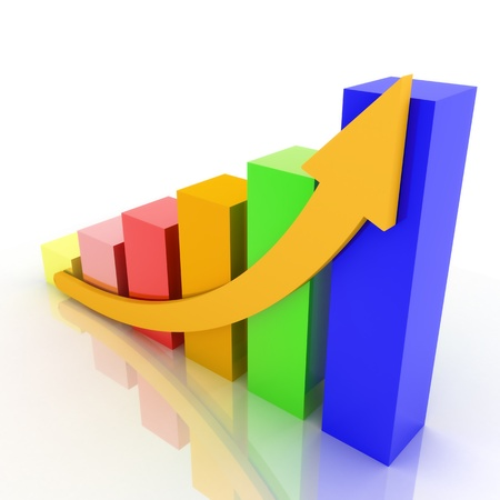 Growth Chart Stock Photo - 13209306