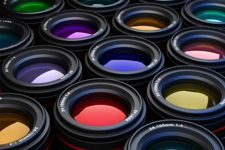 camera lens: Foto Objectief fotografie thema achtergrond