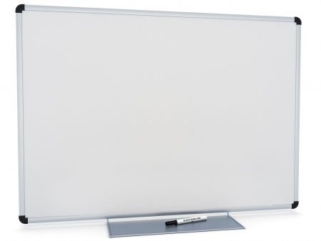 text room: Marker White board, room for text or copy space on a white background  Stock Photo