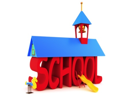 days: School days, SCHOOL spelled in text on a white background