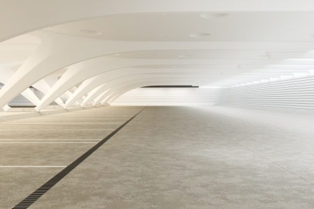 Modern futuristic empty abstract interior  photo