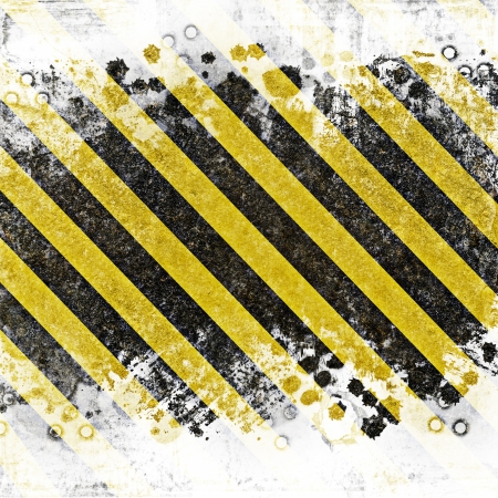 Grunge abstract background for caution or under construction illustrations with room for text or copy space illustration