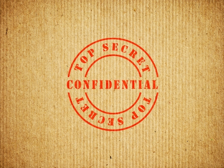 Top Secret Confidential doos