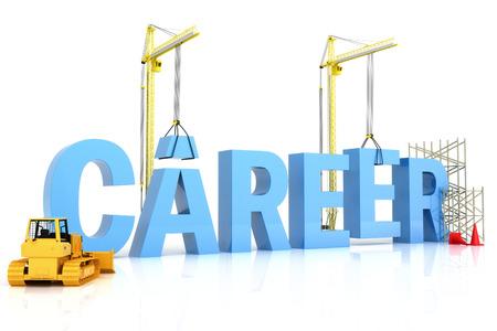 建物のキャリア、キャリアの単語を表すビジネス開発