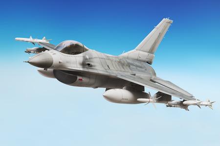 chorro: Avión de combate militar de cerca