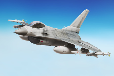 Militärkampfflugzeug close up Lizenzfreie Bilder - 43824431