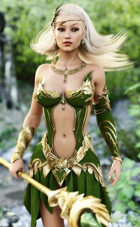 Sexy woodland elf redhead pics 40
