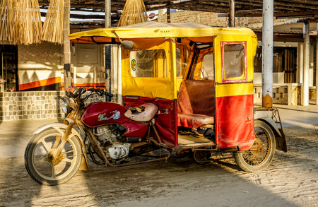 Our typical taxi in the Piura area.