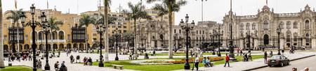 Parque de Armos in Central Lima Editorial