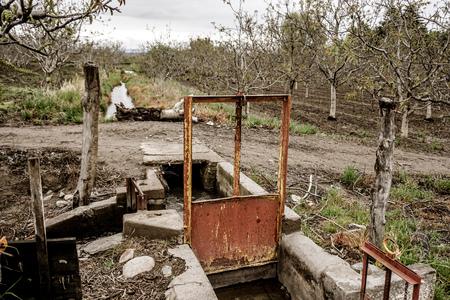 機構彼らの農場にローカル供給から水を運ぶ地元の農場を使用します。 週あたりの水の数時間を取得します。