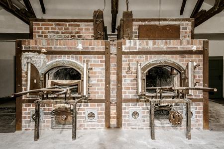 Dachau Concentration Camp - Crematorium Editorial