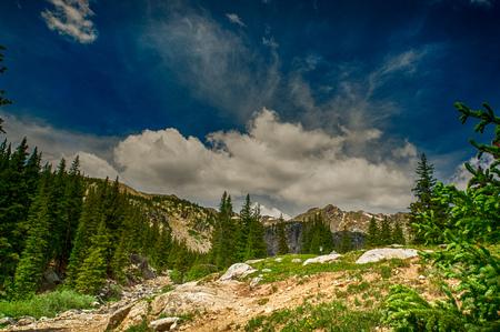 Rocky Mountain Vista - Lanscape