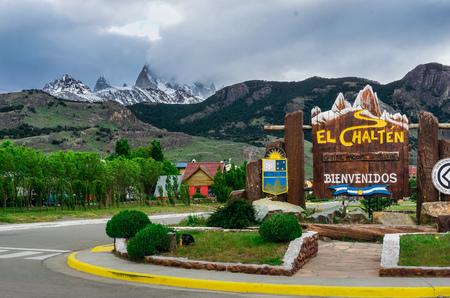 The city of El Chalten Editorial