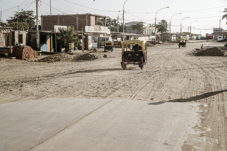 There was one road to the city of Colan that literally stopped and turned into sand Editorial
