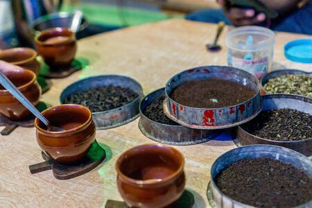 loose leaf: Learning how to make Chai Masala