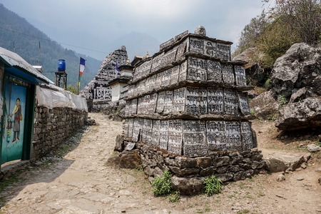 Day 1 of EBC Trek:  Buddist Monuments