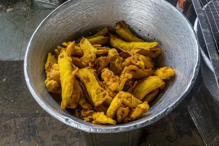 Street Food - fried banana