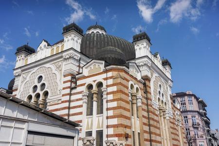 sephardic: Jewish Synagogue Stock Photo