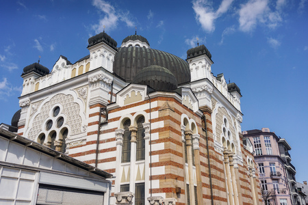Jewish Synagogue Stock Photo