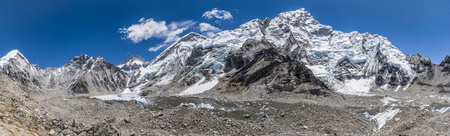 Panoramic of Everest Base Camp