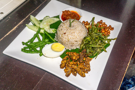 Our Lunch - nasi lemak