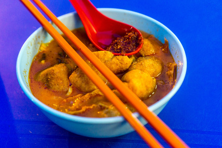 favorite soup: Street food - curry