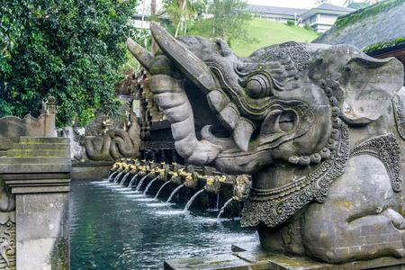 Holy Spring Water Temple (Pura Tirta Empul) Stock fotó