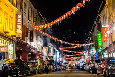 Chinatown in night view
