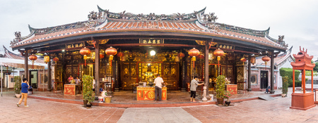 Around town - Chinese Temple Editorial