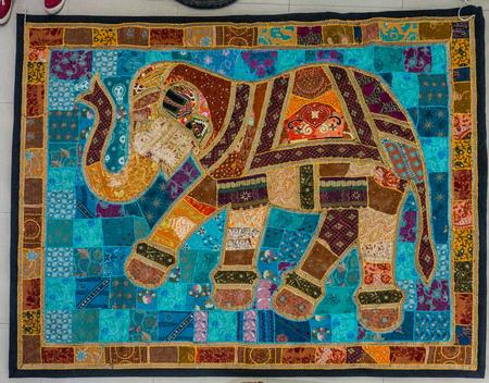 Elephant patchwork piece