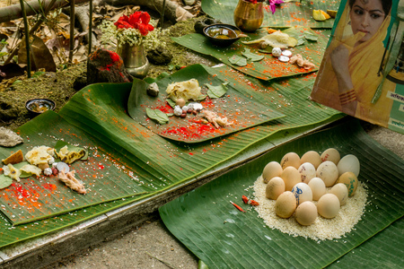 Puja at the Tree Temple (for rain)