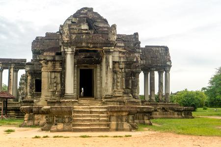 Angkor Wat library 版權商用圖片