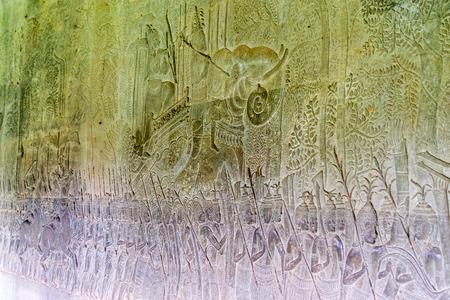 Angkor Wat - Bas Relief