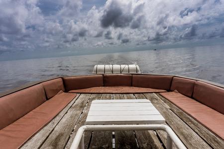 Similan Island, Thailand 3 day liveaboard SCUBA trip - top deck (sleeping)