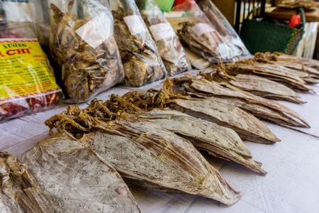 Dried squid in Hanoi