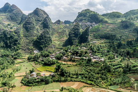 Dong Van (Ha Giang) Vietnam - Trekking restricted northern region, landscape
