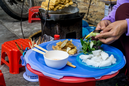 Tofu rice noodles