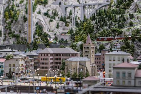 Wonderland  - Mountain town (Switzerland)
