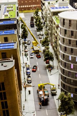 Wonderland - street construction