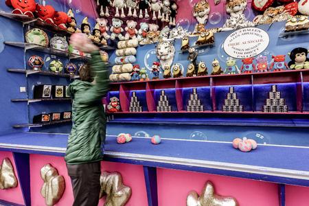 Enjoying a carnival