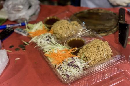 Chiang Rai, Thailand - thai salad