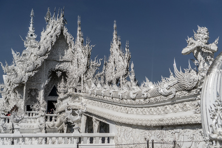 Chiang Rai, Thailand - White Temple - Wat Rong Khun